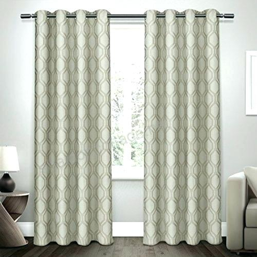 Top Window Curtains – Jelajah For Baroque Linen Grommet Top Curtain Panel Pairs (View 44 of 48)