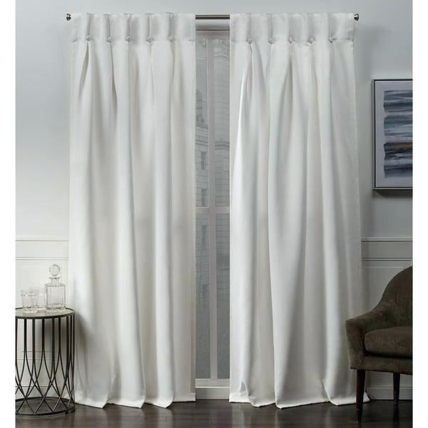 Top Window Curtains – Sawazaki Pertaining To Forest Hill Woven Blackout Grommet Top Curtain Panel Pairs (#40 of 45)