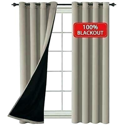 Total Blackout Curtains – Lebaux (View 21 of 31)