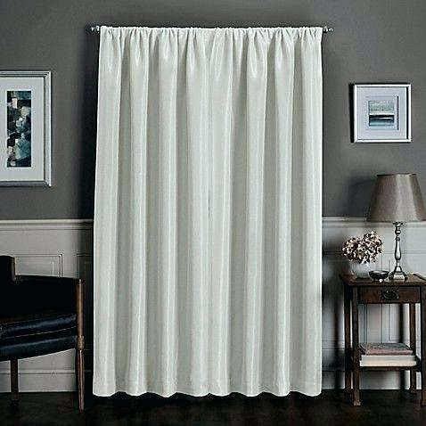 Total Blackout Curtains Rod Pocket Insulated Window Curtain Throughout Star Punch Tulle Overlay Blackout Curtain Panel Pairs (View 17 of 50)