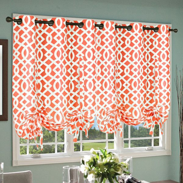 Trellis Grommet Tie Up Shade | Joss & Main | Great Design For Prescott Insulated Tie Up Window Shade (View 30 of 45)