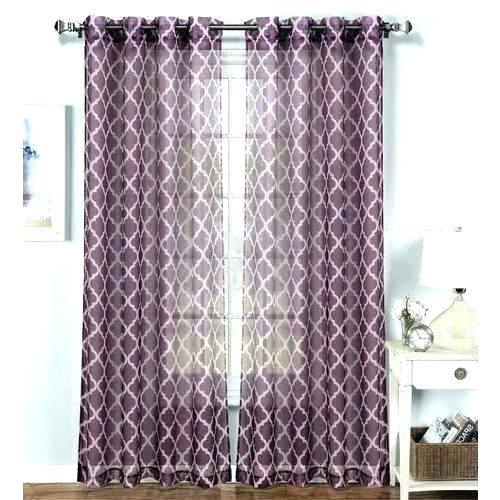 Trellis Pattern Curtains – Jennyvargas Throughout Fretwork Print Pattern Single Curtain Panels (View 21 of 46)