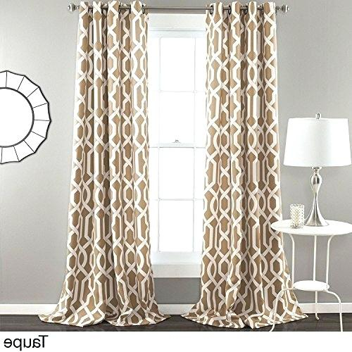 Trellis Pattern Curtains – Jennyvargas With Fretwork Print Pattern Single Curtain Panels (View 46 of 46)