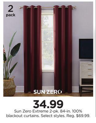 Trouvez Des Rabais Sur Curtain À Houston, Tx | Flipp In Duran Thermal Insulated Blackout Grommet Curtain Panels (#26 of 29)