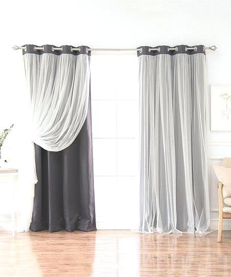Tulle Blackout Curtains – Hsiuk (View 45 of 50)