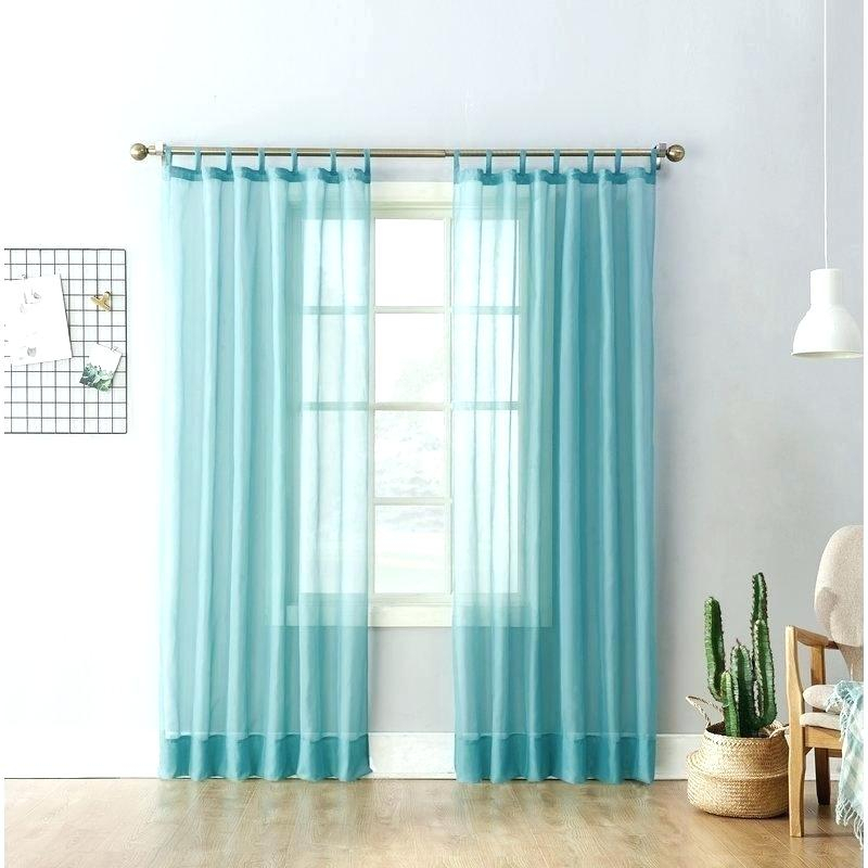 Turquoise Sheer Curtain Panels – Editoresgraficos (#40 of 50)