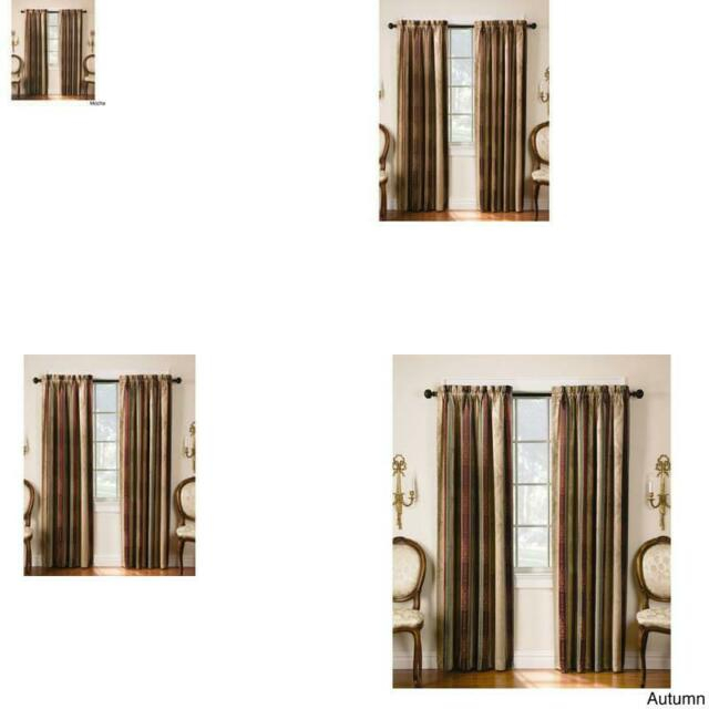 Tuscan Thermal Backed Blackout Curtain Panel Pair Intended For Superior Leaves Insulated Thermal Blackout Grommet Curtain Panel Pairs (#47 of 50)