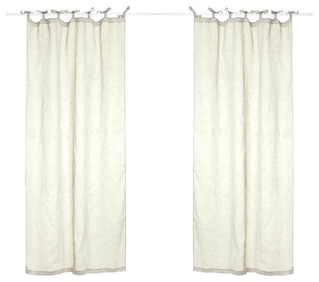 Inspiration about Uk Off White Linen Curtains – Grejanje.club Regarding Archaeo Slub Textured Linen Blend Grommet Top Curtains (#31 of 37)