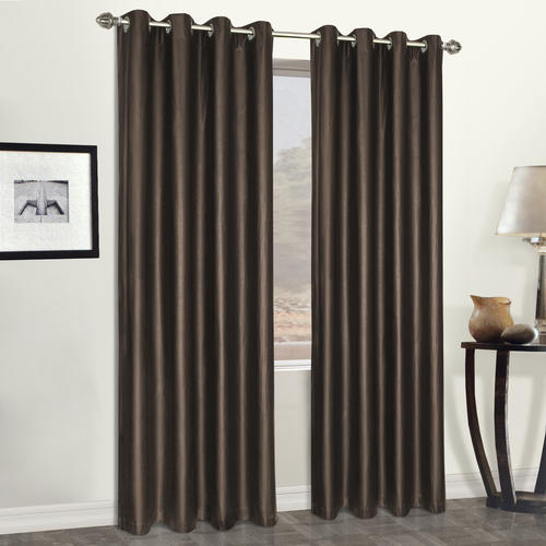 United Curtains Faux Leather Grommet Room Darkening Curtain For Grommet Room Darkening Curtain Panels (View 44 of 50)