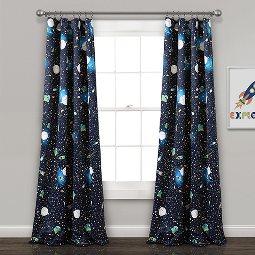 Universe Navy 84 X 52 In (View 8 of 49)