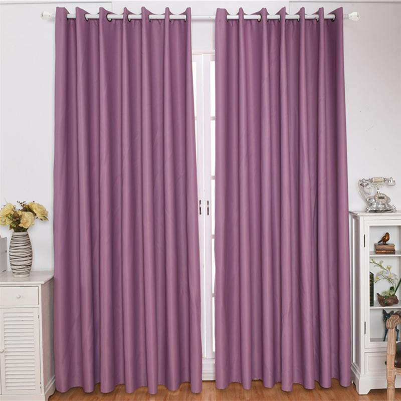 Inspiration about Us $12.49 27% Off|Ultra Sleep Well Energy Saving Thick Linen Pair Curtains  Thermal Insulated Textured Blackout Curtains Darkening Curtains In Blinds, In Thermal Insulated Blackout Curtain Pairs (#20 of 50)