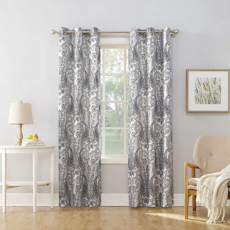 Valerie Wallace Grommet Top Curtain Panel | Products With Softline Trenton Grommet Top Curtain Panels (View 24 of 50)