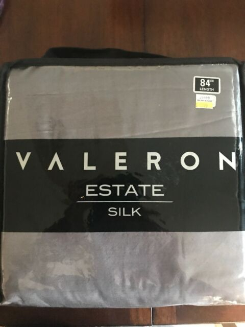 Valeron Estate 84 Inch Silk Window Curtain Panel In Taupe With Regard To Grainger Buffalo Check Blackout Window Curtains (View 42 of 50)