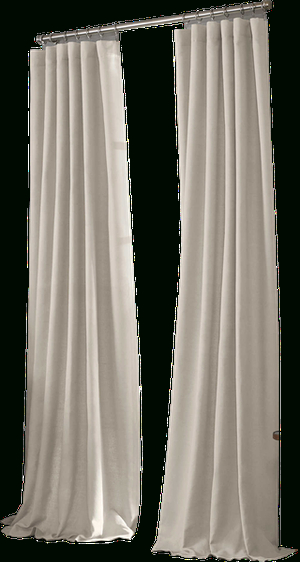 Valeron Estate Cotton Linen 120 Inch Window Curtain Panel In Regarding Ombre Stripe Yarn Dyed Cotton Window Curtain Panel Pairs (View 28 of 31)