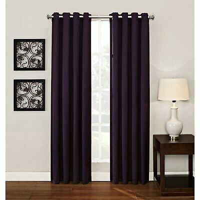 Vc Ny Home Downtown Collection Gemma Darkening Curtain Throughout Pastel Damask Printed Room Darkening Grommet Window Curtain Panel Pairs (#48 of 50)
