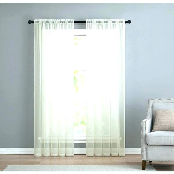 Vcny Curtains Curtain Infinity Sheer Rod Pocket Panel Pair For Infinity Sheer Rod Pocket Curtain Panels (#42 of 50)