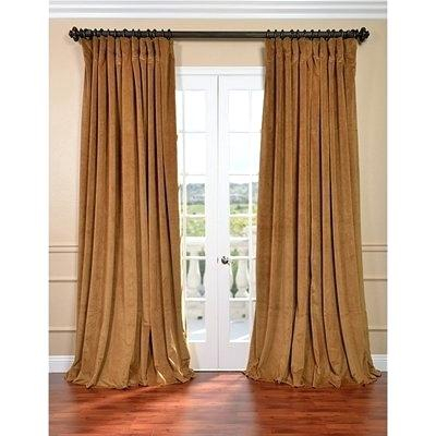Velvet Curtain – Osttopst Inside Signature Blackout Velvet Curtains (#47 of 50)