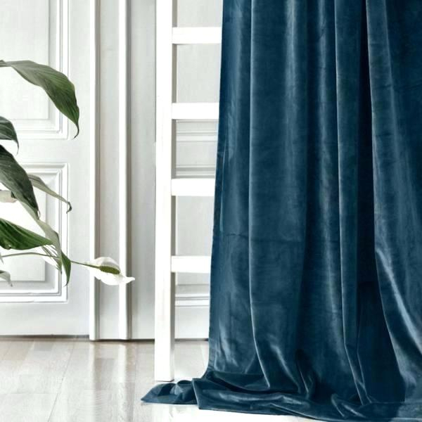Velvet Curtain Panels – Tennisshop For Knotted Tab Top Window Curtain Panel Pairs (#45 of 50)