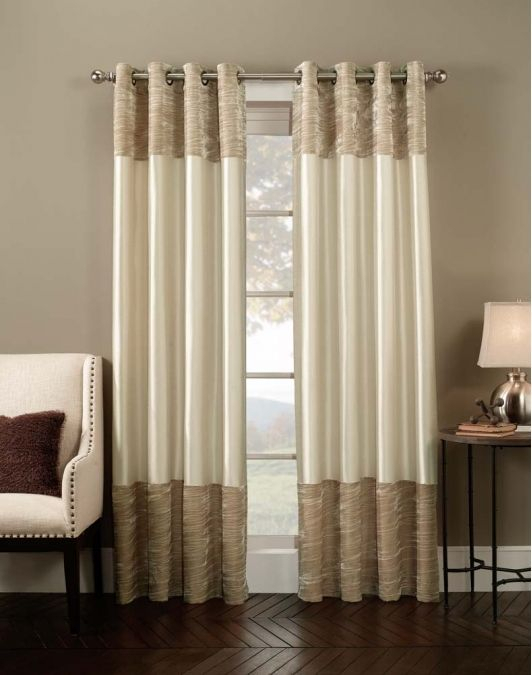 Venetian Velvet Luxury Curtain Panel  Home And Garden Design With Luxury Collection Venetian Sheer Curtain Panel Pairs (#35 of 36)