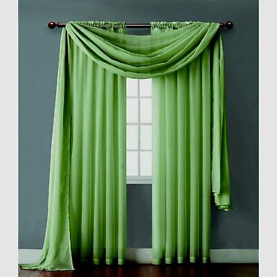 """Victoria Classics Infinity Home Sheer 2 Panel 55"""" X 108 For Infinity Sheer Rod Pocket Curtain Panels (#48 of 50)"""