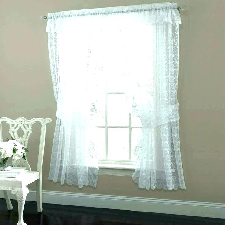 Vintage Lace Curtain Panels Uk Ivory Curtains Immense Cotton Pertaining To Insulated Cotton Curtain Panel Pairs (#44 of 50)