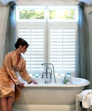 Water Repellent Bathroom Window Curtains – Cloudconsult In Classic Hotel Quality Water Resistant Fabric Curtains Set With Tiebacks (#41 of 50)