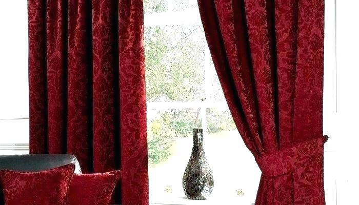 Watercolor Red Floral Shower Curtain Polyester Long Purple Pertaining To All Seasons Blackout Window Curtains (View 46 of 48)