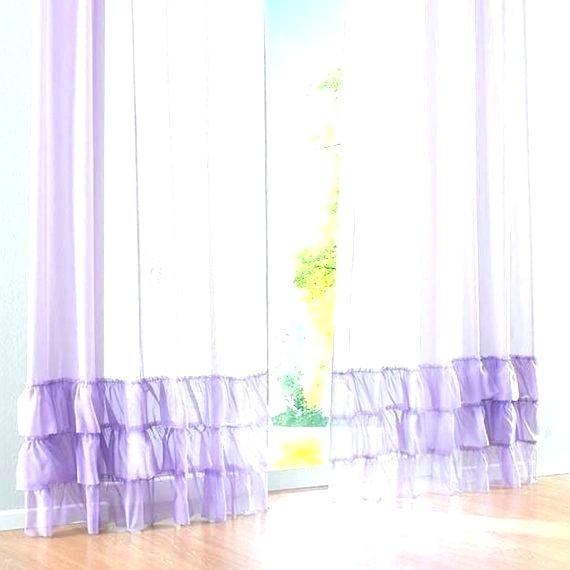 Waterfall Ruffle Curtain – Daivietgroup Throughout Sheer Voile Waterfall Ruffled Tier Single Curtain Panels (#48 of 50)
