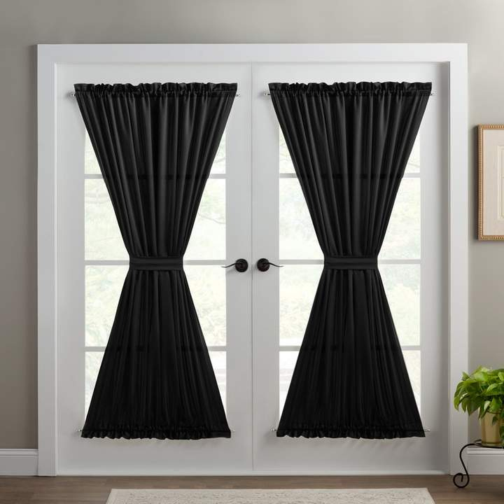 Wayfair Basics™ Solid Room Darkening Thermal Rod Pocket Within Nantahala Rod Pocket Room Darkening Patio Door Single Curtain Panels (#43 of 50)