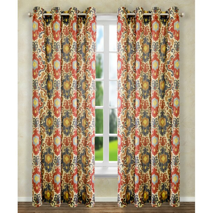 Weingarten Lined Grommet Single Curtain Panel In Lined Grommet Curtain Panels (#31 of 31)