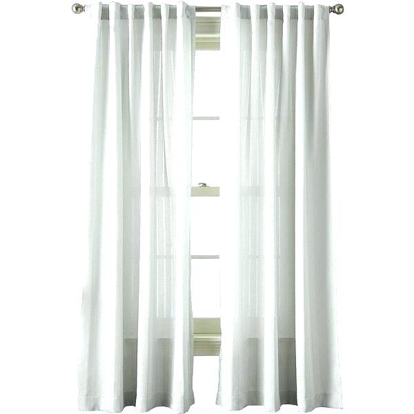 What Is A Back Tab Curtain Regarding Elrene Mia Jacquard Blackout Curtain Panels (View 37 of 37)
