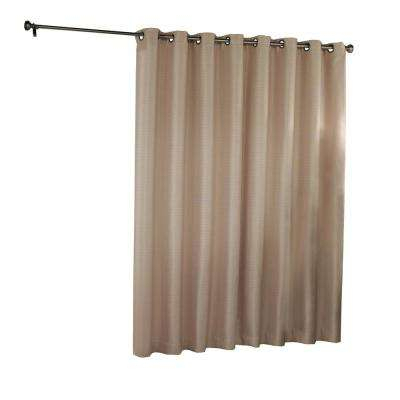 Wheat – Blackout Curtains – Curtains & Drapes – The Home Depot Throughout Grommet Blackout Patio Door Window Curtain Panels (View 48 of 50)