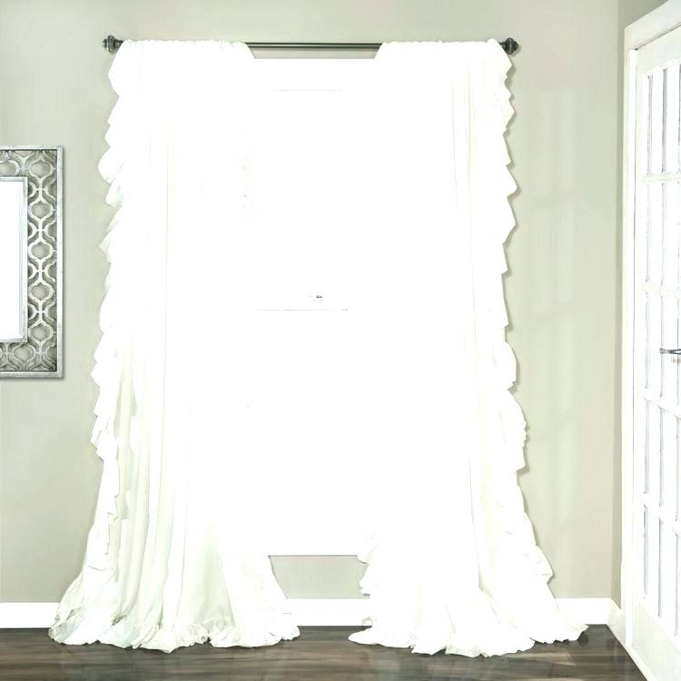 White 63 Inch Blackout Curtains Metallic Window Curtain Regarding Solid Insulated Thermal Blackout Curtain Panel Pairs (View 50 of 50)