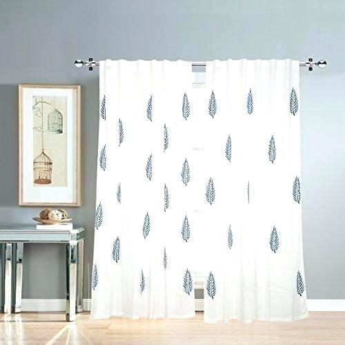 White Cotton Curtain Valance Duck Shower – Passionpurposeprofit With Bark Weave Solid Cotton Curtains (View 43 of 50)
