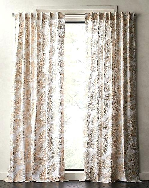 White Cotton Curtains With Regard To Solid Country Cotton Linen Weave Curtain Panels (#48 of 50)