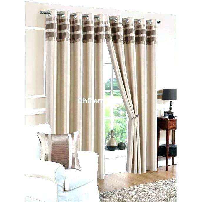 White Faux Silk Taffeta Curtains – Delmybrar (View 29 of 50)