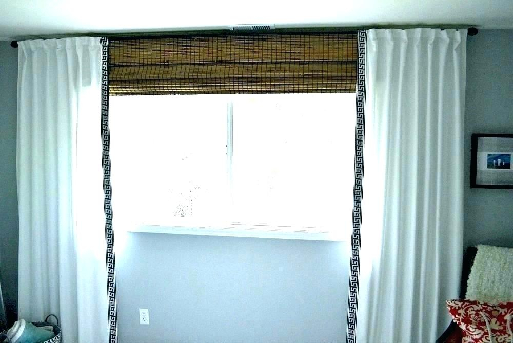 White Linen Curtains Blackout Drapes Panels Buy Cu – Sylar Within Signature French Linen Curtain Panels (#44 of 50)