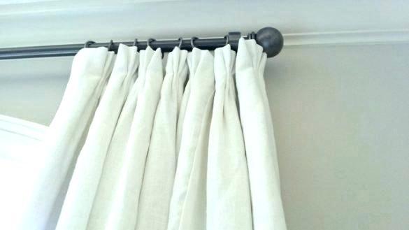 White Linen Curtains Panels – Kitchensync (#46 of 50)