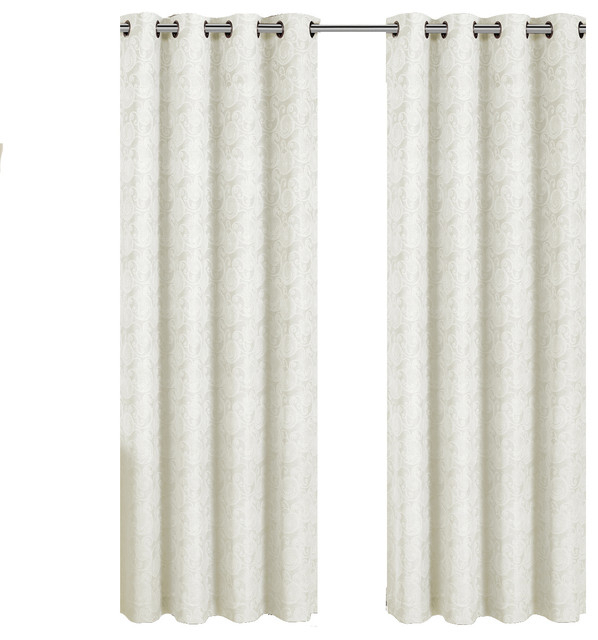 White Paisley Curtains – Home Ideas For Lambrequin Boho Paisley Cotton Curtain Panels (#40 of 41)