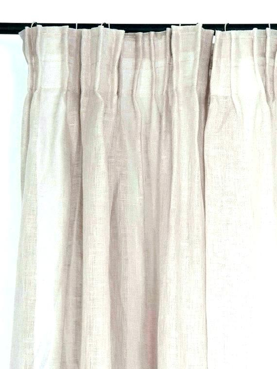 White Pleated Curtains Linen Yarn Pinch Drapes Sheer Inside Signature Pinch Pleated Blackout Solid Velvet Curtain Panels (View 38 of 50)