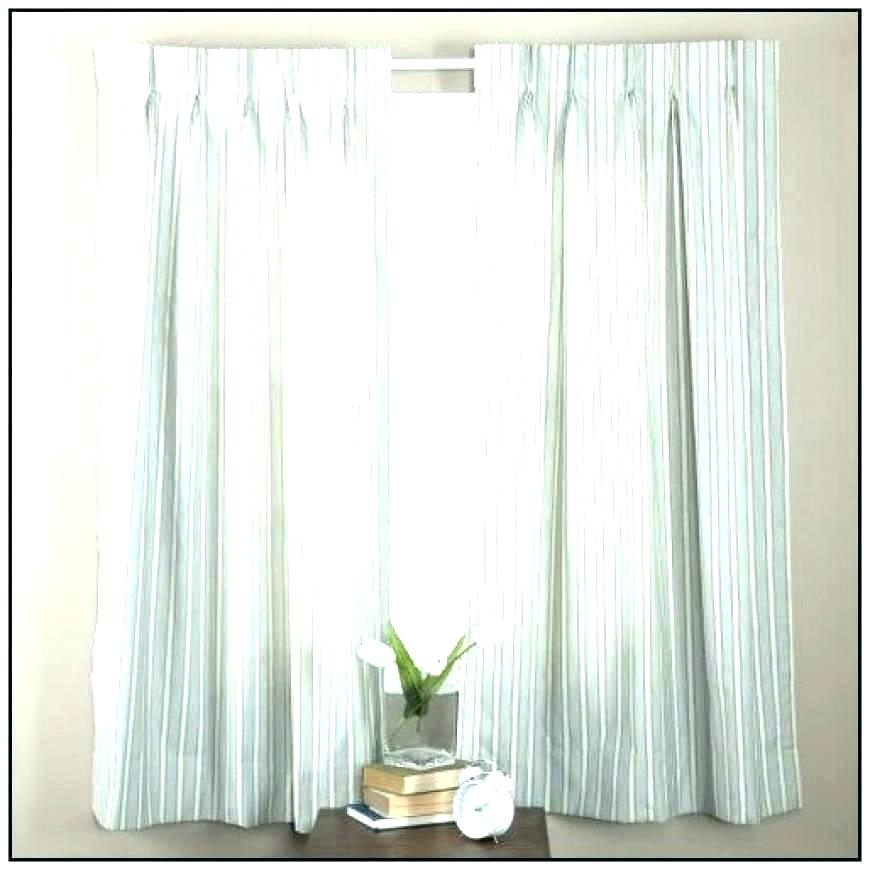 White Pleated Curtains – Mamtiling Intended For Signature Pinch Pleated Blackout Solid Velvet Curtain Panels (View 35 of 50)