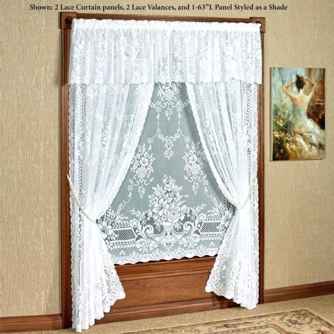 White Room Darkening Curtain – Tyronetees Pertaining To Rowley Birds Room Darkening Curtain Panel Pairs (View 45 of 49)