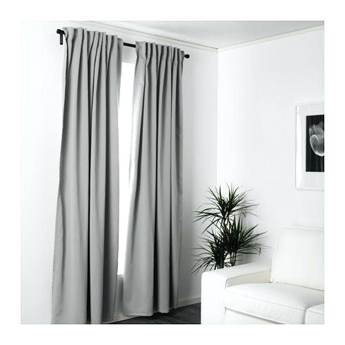 White Room Darkening Curtains – Diamondday Inside Rowley Birds Room Darkening Curtain Panel Pairs (View 17 of 49)