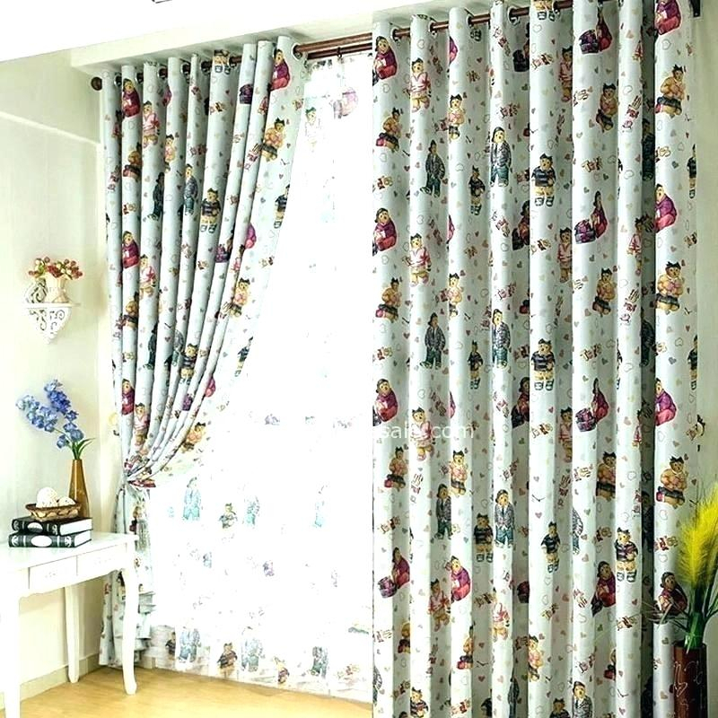 White Rowley Birds Room Darkening Curtain Panel | Flisol Home Throughout Rowley Birds Room Darkening Curtain Panel Pairs (View 35 of 49)