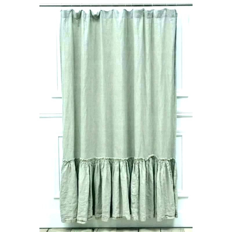 White Ruffle Curtains – 2Inmobilier (View 43 of 50)