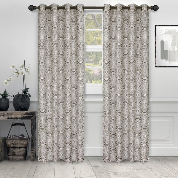White Ruffle Curtains 96 | Wayfair Within Grainger Buffalo Check Blackout Window Curtains (View 44 of 50)
