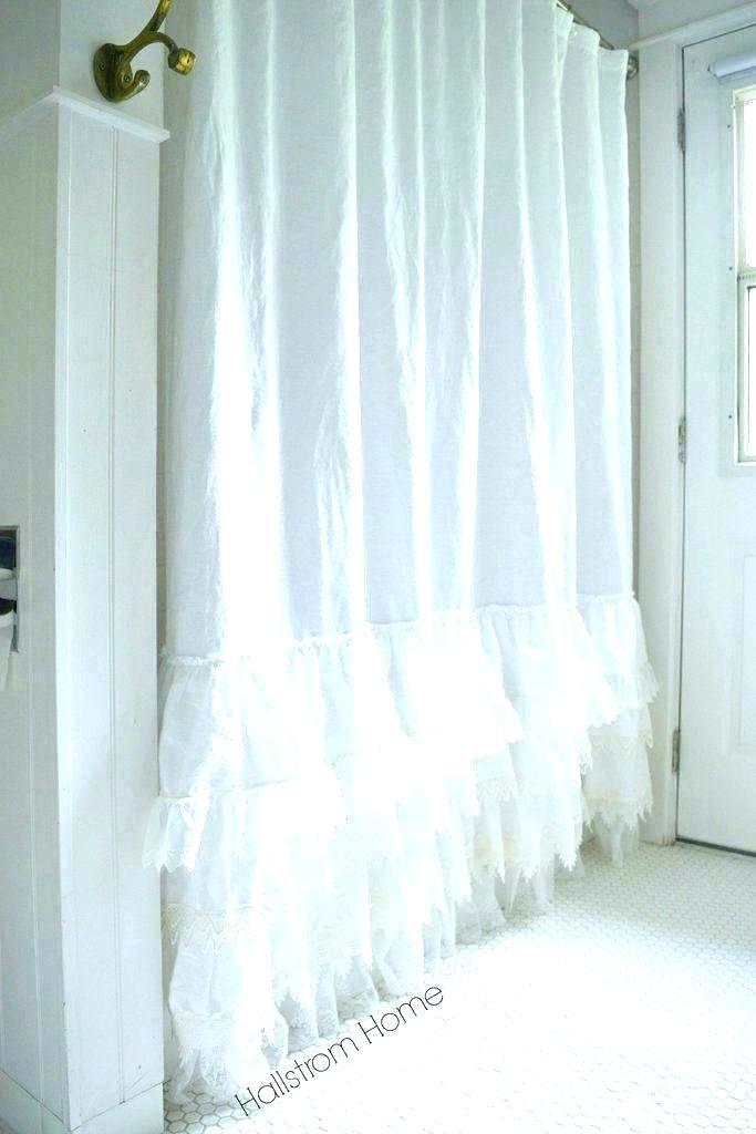 White Ruffled Curtains Pair Of Ruffle Diamond Window Panels Within Ruffle Diamond Curtain Panel Pairs (View 19 of 50)
