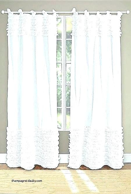 White Shabby Chic Curtains – Empleo (View 27 of 50)