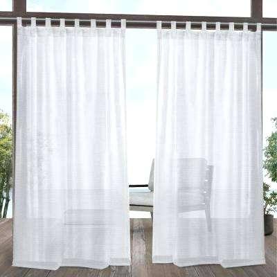 White Sheer Curtain Panels 96 – Ignatiusofloyola Inside Sheer Voile Waterfall Ruffled Tier Single Curtain Panels (#50 of 50)