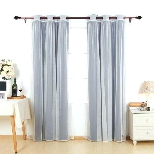 White Sheer Curtain Panels – Thirdbear (#50 of 50)